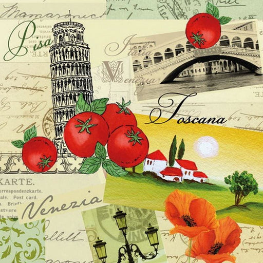 Ambiente 33X33 cm Collage Italia