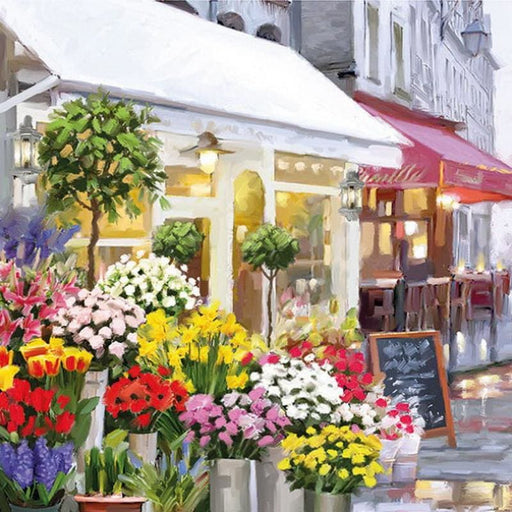 Ambiente 33X33 cm Flower Shop
