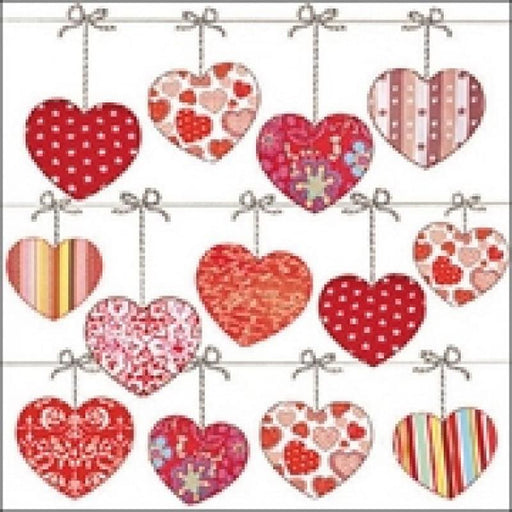 Ambiente 33X33 cm Hearts On Wire