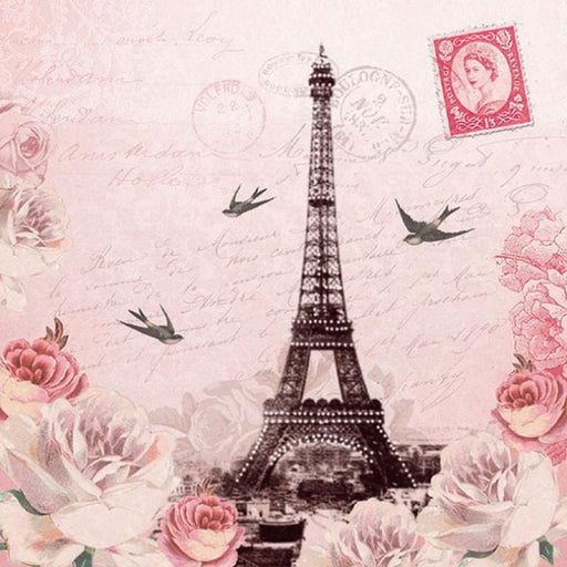 Ambiente 33X33 cm Letter To Paris