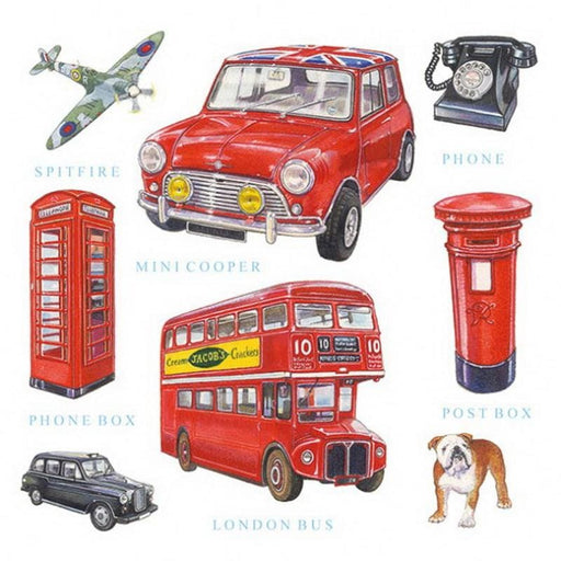 Ambiente 33X33 cm London Icons