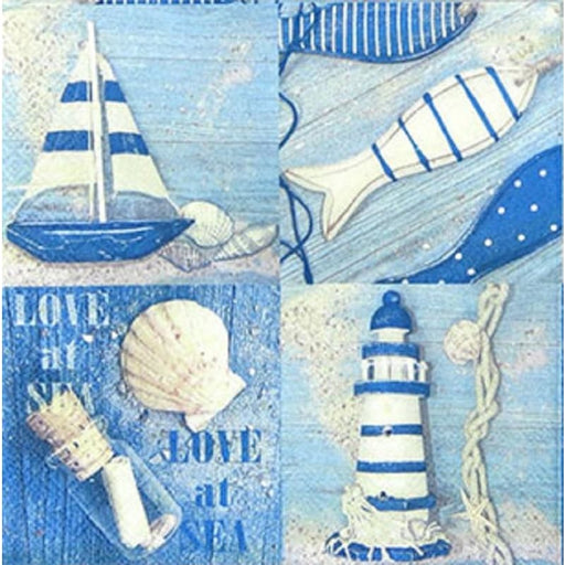 Ambiente 33x33 cm Love At Sea