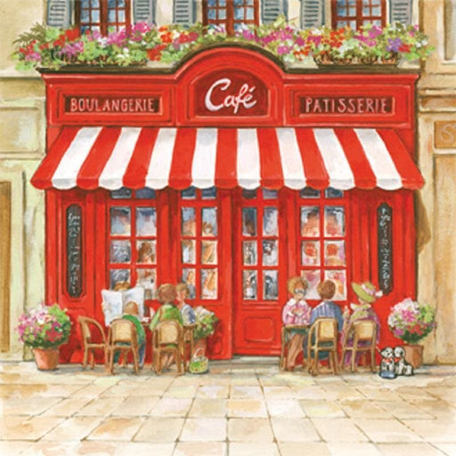 Ambiente 33x33 cm Paris Cafe