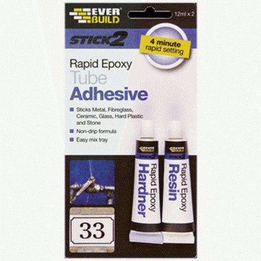 Everbuild Stick 2 Rapid Epoxy Adhesive ube 2