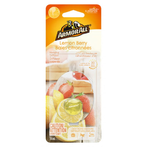 Armor All Air Freshener Κρεμαστό Αρωματικό Diffuser Lemon Berry