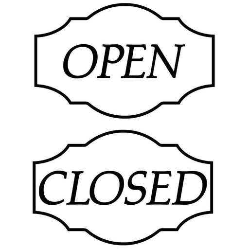 PVC OPEN/CLOSED