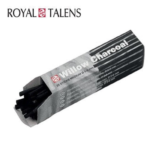Royal Talens 25 Μεσαία Κάρβουνα 5-6mm