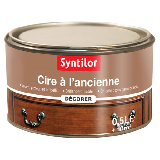 Syntilor Cire à lAncienne Pâte