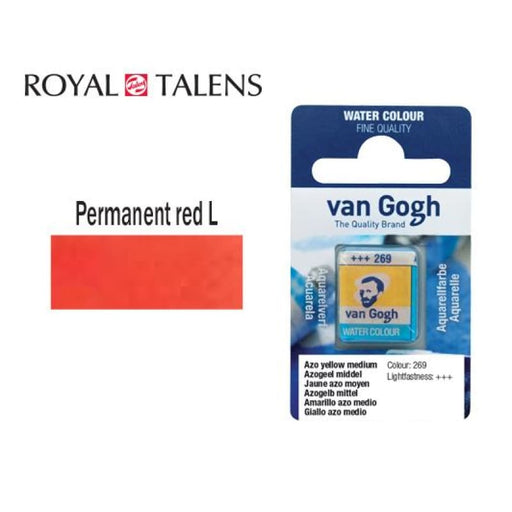 Talens V.gogh Permanent Light Red