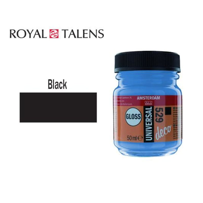 Talens Gloss 50ml Ams Deco Black