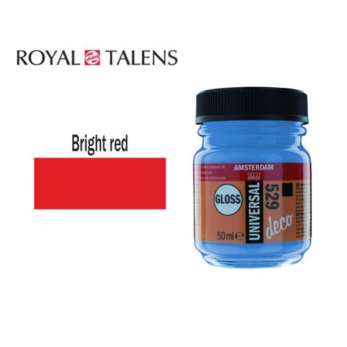 Talens Gloss 50ml Ams Deco Br. Red