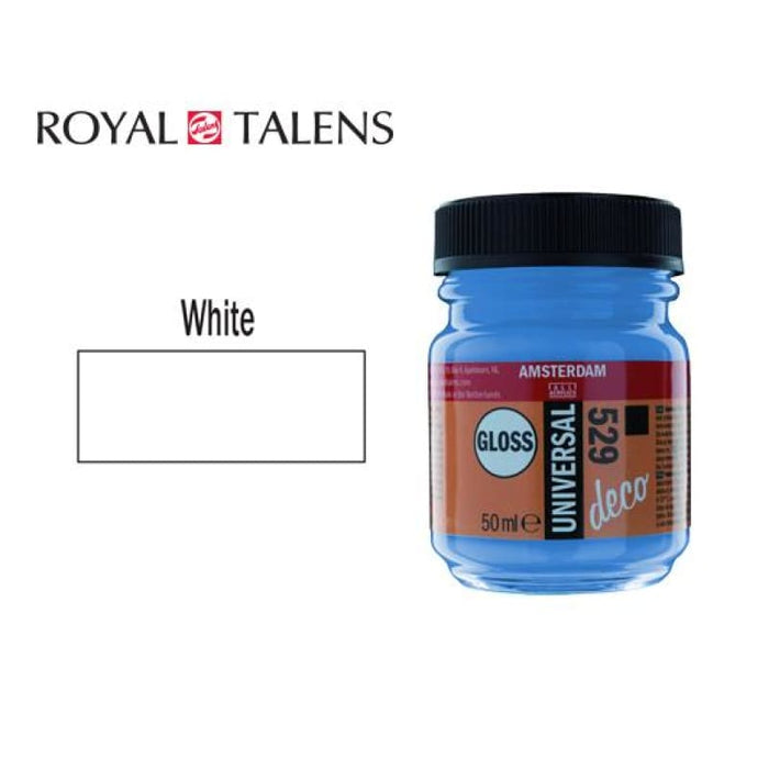 Talens Gloss 50ml Ams Deco White