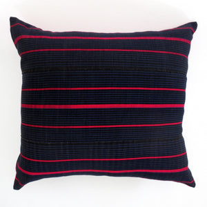 Navy Cobalt Azalea Pillow