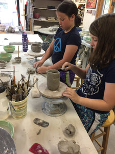 After-School Winter into Spring Clay Class Tuesdays 3:30-5pm Staring 3/6/2018