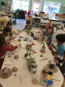 After-School Clay Class Mondays 3:30-5pm