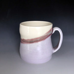 magic lavender glaze that shifts colors depending on the light source.