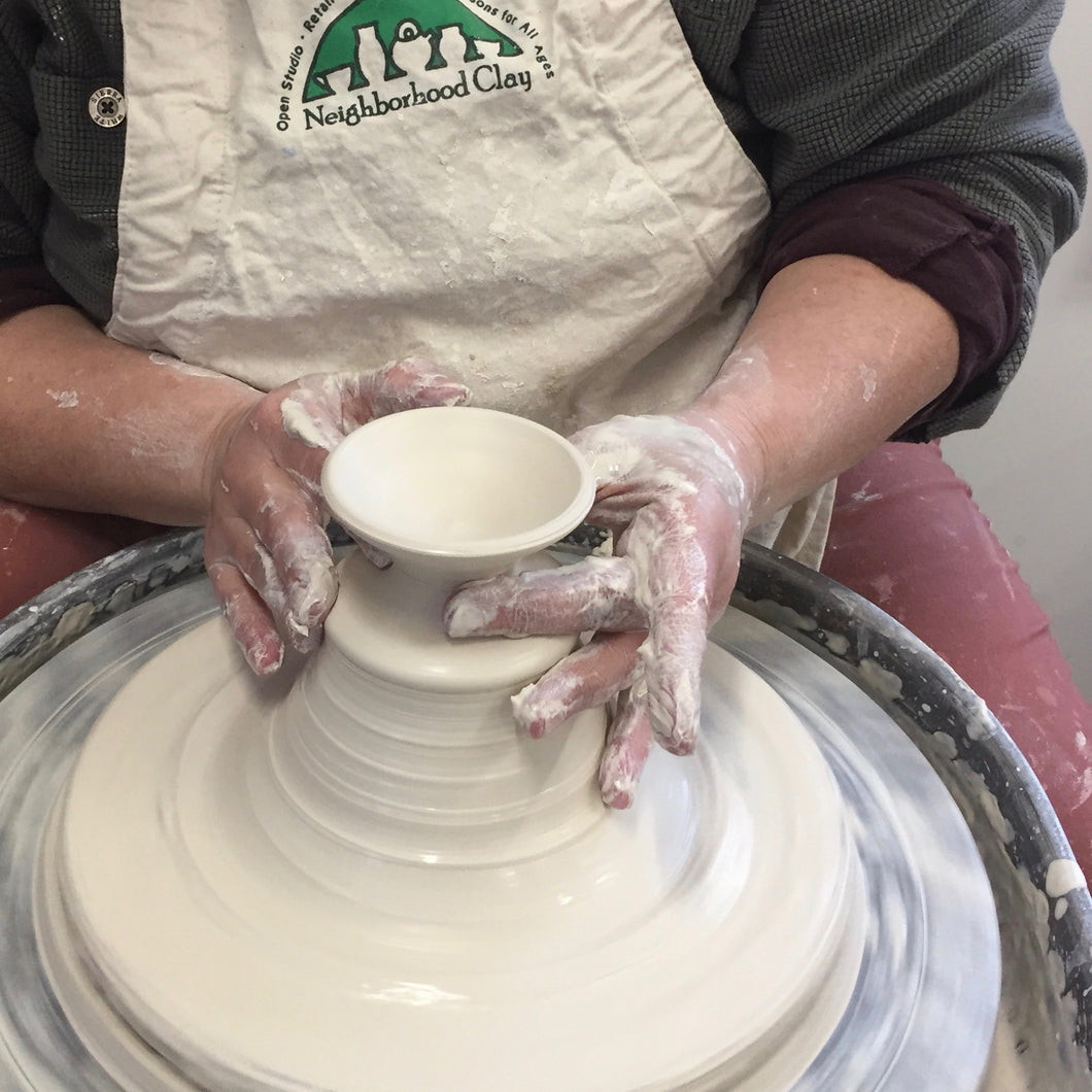 Tuesday Night Clay Class: All levels welcome: On going