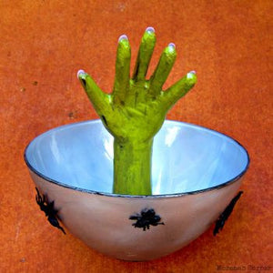 Play With Clay:  Halloween Candy Bowl Workshop Saturday October 20 4-6pm