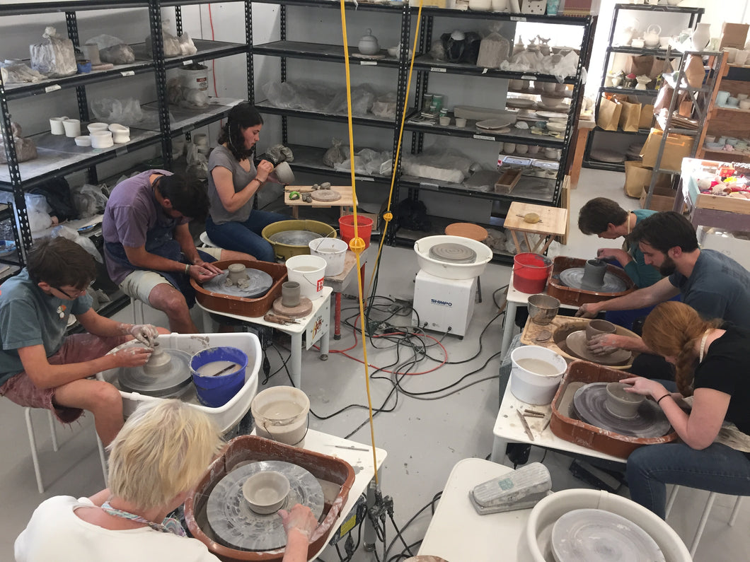 ***New***8 week Introduction to Pottery Starting on 6/22/19: Beginner and Intermediate  Saturday Morning 9-11