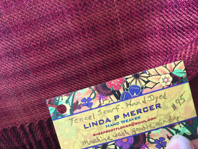Tencel Scarf Hand Dyed