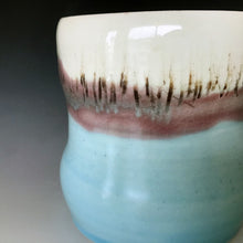 12 oz Sea and Sky Curvy Mug Liz Proffetty Ceramics Item#M11