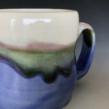 12 oz Mountain and Lakeshore Curvy Mug Liz Proffetty Ceramics Item#M12