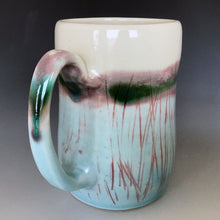 12 oz Sea and Sky Curvy Mug Liz Proffetty Ceramics Item#M15