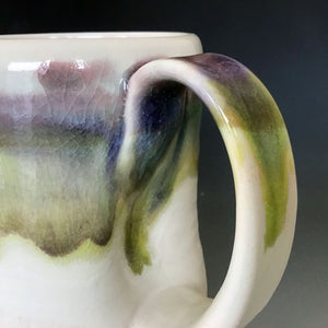 12 oz Snowy Field Curvy Mug Liz Proffetty Ceramics Item#M18