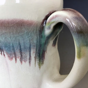 12 oz Snowy Field Curvy Mug Liz Proffetty Ceramics Item#M22