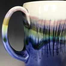 12 oz Mountain and Lakeshore Curvy Mug Liz Proffetty Ceramics Item#M7