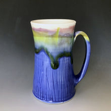 16 oz Mountain and Lakeshore Curvy Stein Liz Proffetty Ceramics Item#ST4