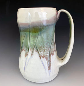 20 oz Snowy Field Stein Liz Proffetty Ceramics Item#ST4