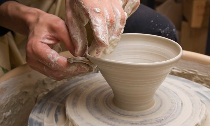 Family Fun Night on the Pottery Wheel! Saturday 4-6pm 3/16/19