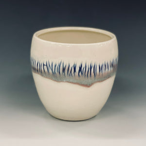 Snowy Fields Wine Cup Liz Proffetty Ceramics Item#WC7