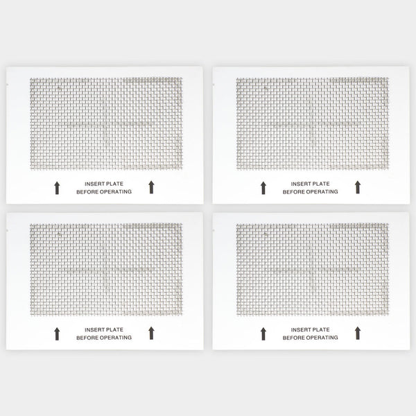 "4 Ceramic Ozone Plates Large for Ozone Generator Air Purifier 6.5""x4.5"""