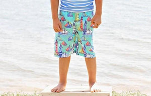 Light the Way Swim Trunks (ONE 3/6M LEFT)