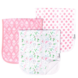 Claire Burp Cloth Set (3 pack)