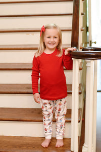 Personalized Nutcracker Ballet Children's Christmas PJ Set