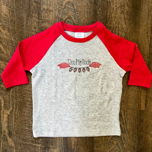 Arkansas Football Raglan