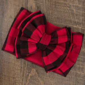 Buffalo Plaid Headwrap