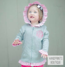 Girls ruffle jacket