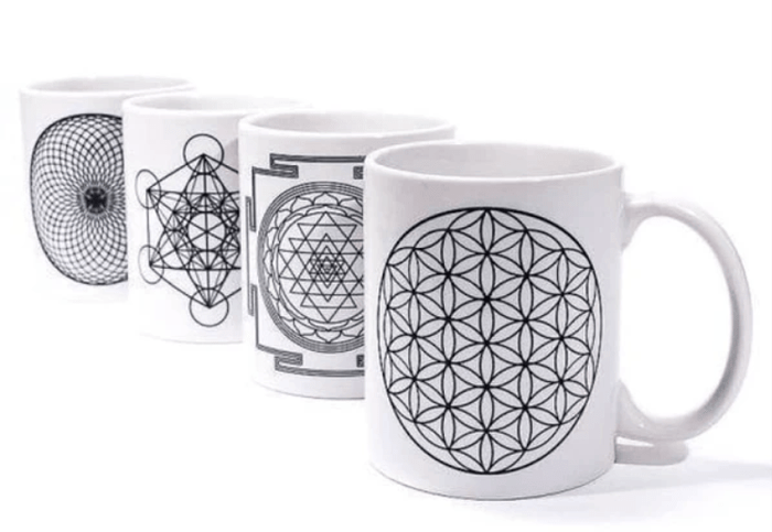 Revered/Sacred Geometry Mugs │ PlusMinusCo - Plus Minus Co.
