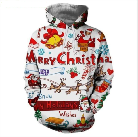 Festive Hoodies for Christmas - Plus Minus Co.