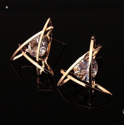 earrings stud diamond