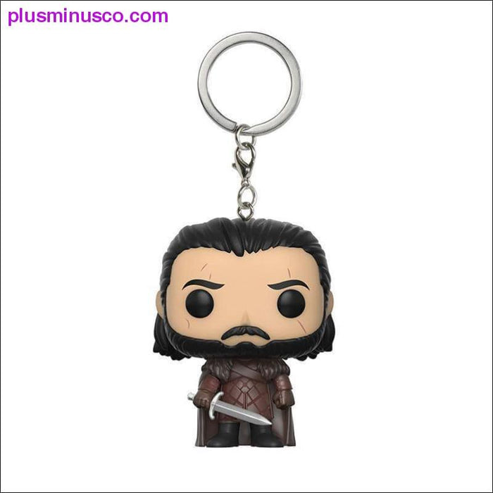 Game of Thrones Q Version Keychain - Plus mínus Co.