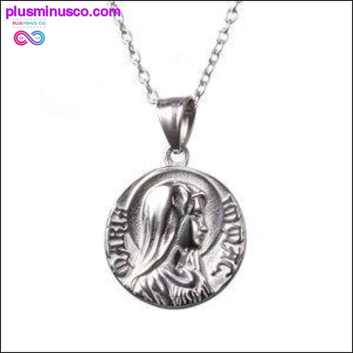 Fashion Gold Color And Silver Color Charm Jesus Virgin Mary - Plus Minus Co.