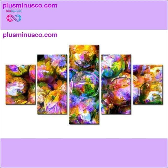 3D Colorful Bubble Fashion Ball Wall Art για διακόσμηση βρεφικού δωματίου - Plus μείον Co.
