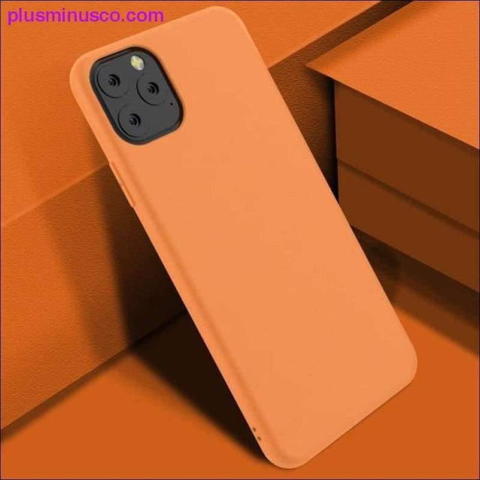 Για iPhone 11 XI XI Max XIR 2019 Case Silicone Original Candy Color Ενσωματωμένο βελούδο Slim Matte Soft - Plus Minus Co.