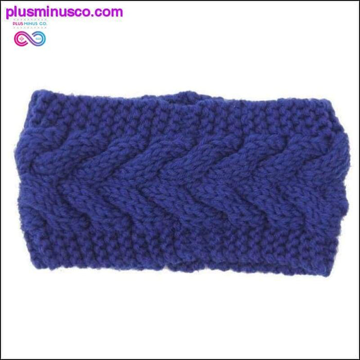 Stylish Hair Accessories Winter Warmer Ear Knitted - Plus Minus Co.