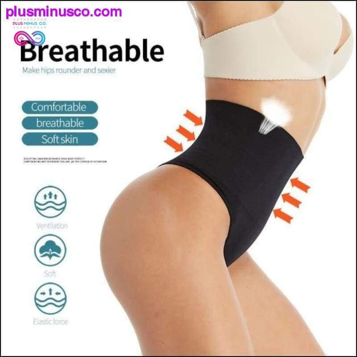 Waist Slimming and Butt Enhancing Shorts Shapewear at - Plus Minus Co.